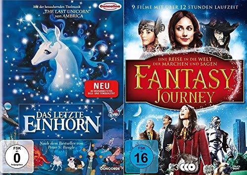 Das letzte Einhorn - 10er Fantasy Weihnachten Collection - mit Plätzchenausstecher + Das letzte Einhorn kehrt zurück + Snow White + Herr der Elfen u.v.m. DVD Limited Edition (White Princess Snow)