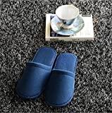 GFYWZ 20 accoppiamenti Hotel Travel Pantofole monouso pantofole Chiuso Toe Casa Bianco Rosso Blu , 43