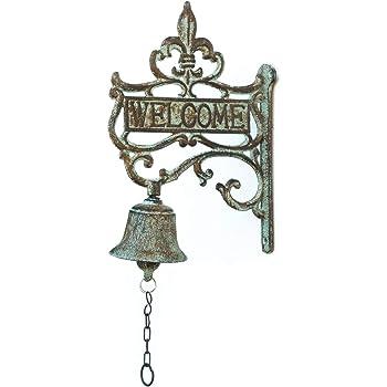 Glocke mit sehr markantem Klang historisches Modell im hochglänzendem Messing