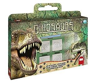 Multiprint Dinosaurs - Juegos de Sellos para niños, Caucho, Madera, 3 año(s), Italia, 330 mm, 40 mm