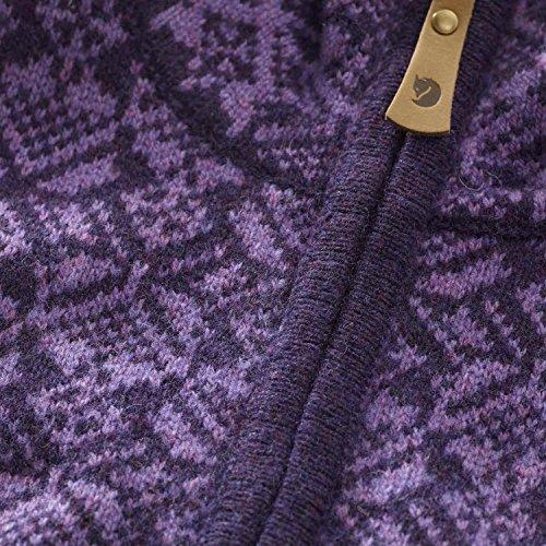 Fjällräven Snow Cardigan Jacket Women - Strickjacke aus Wolle navy