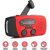 Portable Radios Meteo emergenza manovella solare autoregolata NOAA WB AM/FM Radio luce torcia elettrica 1000mAh Telefono…