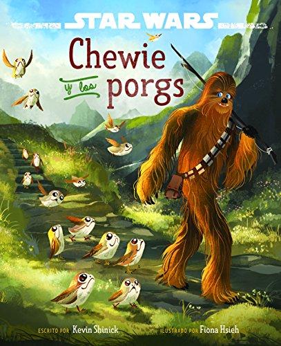 Star Wars. Los últimos Jedi. Chewie y los porgs por Star Wars