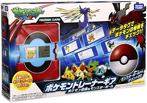 Preisvergleich Produktbild Pokemon trainer gear New Pok dex & Monster Ball (japan import)