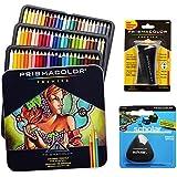 Prismacolor Kit de 72crayons de couleur avec gomme triangulaire et taille-crayon
