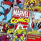 Marvel Comics Classic Official 2018 Calendar - Square Wall Format Calendar (Calendar 2018)