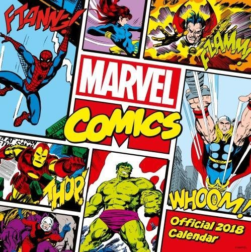 Marvel Comics Classic Official 2018 Cale...