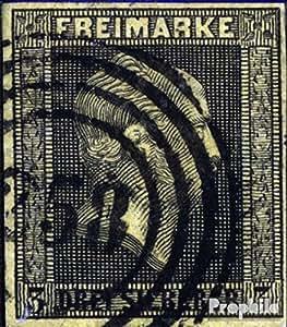 Prusse 4 exemplaire normal 1850 roi buste (Timbres pour les collectionneurs)