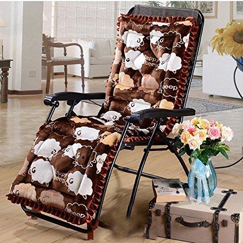 Più spessa invernale reclinabile cuscino cuscini cuscini antiscivolo pieghevole reclinabile
