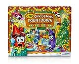 CRAYOLA 04-6808-U-000 Christmas Advent Calendar Kit