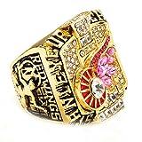 LANCHENEL Herren Detroit Red Wing Meisterschaft des Jahres 2002 Ringe,Größe 70(22.3)