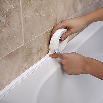 Bath Amp Wall Sealing Strip 38mm X 3 35m By Supadec Amazon