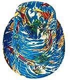 CLUB CUBANA Hawaiianische Fedora Hüte Für Männer Frauen Unisex Trilby