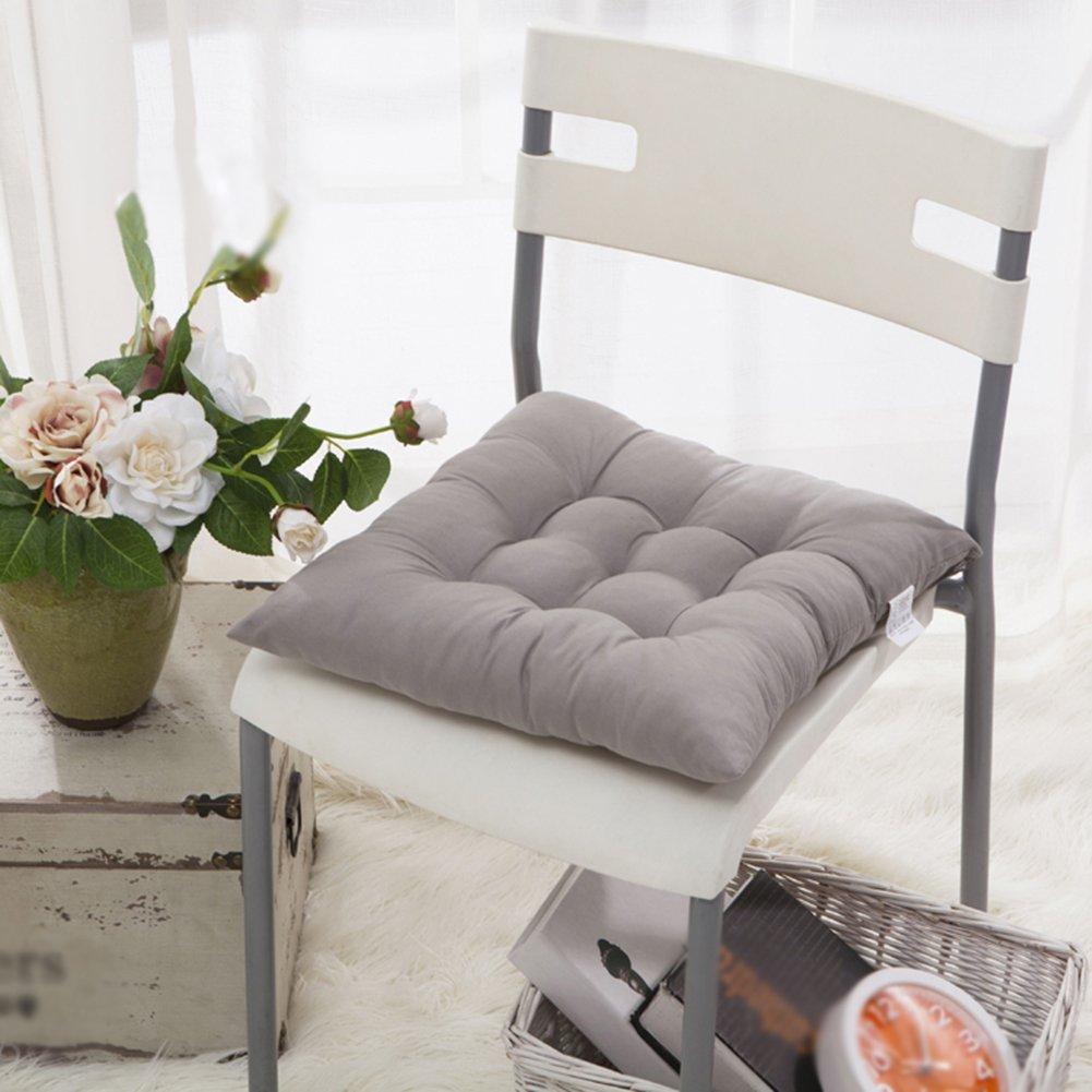 Cuscino Sedia 40x40,Worsendy Set da 4 cuscini da sedia trapuntati ...