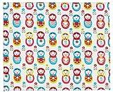 Jollein, Materassino per box giochi bimbo, 78 x 96 cm, Multicolore (weiss/rot/blau)