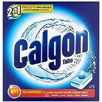 Calgon 2-in-1-75Wasserenthärter Tablets–1Stück (insgesamt 75Tablets)