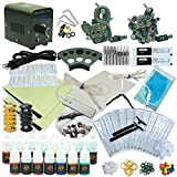 1TattooWorld Professional Tattoo Kit 2 T...