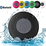 #1: MM Gold Water Proof Bluetooth Shower Speaker With Mic,(Multi colors )