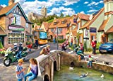 Gibsons Then and Now Puzzle, 2x 500Teile