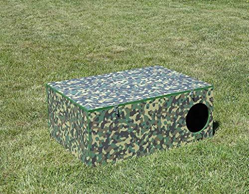 Jagdfallen Steingraf Qualitätsfallen Made in Germany 102x75x40 Kesselfalle Fuchsfalle Dachsfalle Waschbärfalle Camouflage Sommer#77#