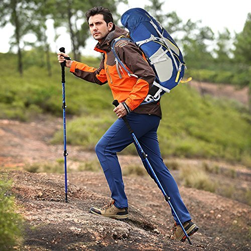 Keynice 50L Trekkingrucksäcke Wanderrucksack Lightweight Wasserdicht Hiking Backpack for Outdoor Sports … KN-3061-BU