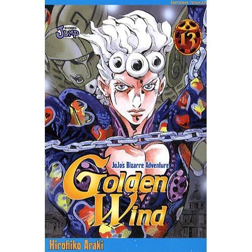 Jojo's Bizarre Adventure - Golden Wind, Tome 13 :