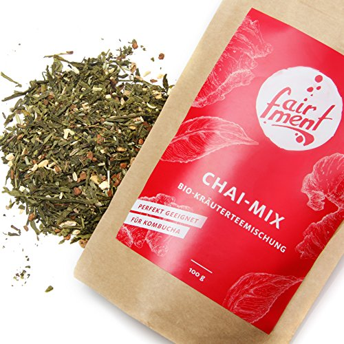 Premium Bio Teemischungen von Fairment®, für Kombucha geeignet, 100g