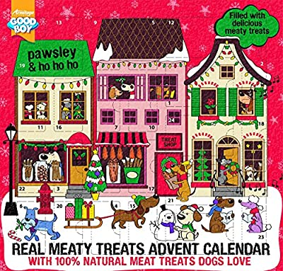 Good Boy Pawsley Meaty Treats Advent Calendar for Dogs by Good Boy