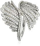Pandora Damen-Ring Schimmernde Phoenixfeder 925 Silber Zirkonia weiß Gr. 50 (15.9) - 190960CZ-50