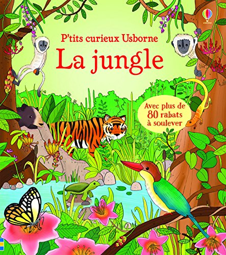 Jungle - P'tits curieux Usborne