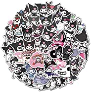 Cute Kitty Stickers of 50 Vinyl Decal Merchandise Laptop Stickers for Laptops, Computers, Hydro Flasks, Skateb