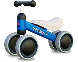 XIAPIA Bicicleta sin Pedales, Bici Bebe para Niños de 1 Año, Juguetes Bebes 1 Año, Triciclos Correpasillos Bebes 1 Año, Regal