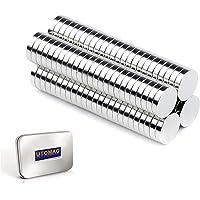 Aimants Néodyme Puissants, 5mm x 1mm Disc Terres Rares Petits Ronds Magnet pour Réfrigérateur, Frigo Surfaces…