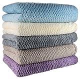 colcha, manta viviente, Mantas y colchas, lana súper suave, 130 cm x 180 cm, plata, gris