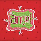 Amylee Weeks Angel Counted Cross Stitch Kit-6.5X6.5 14 Count by Mill Hill
