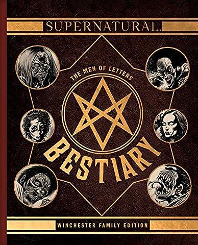 Supernatural men of letters bestiary HC