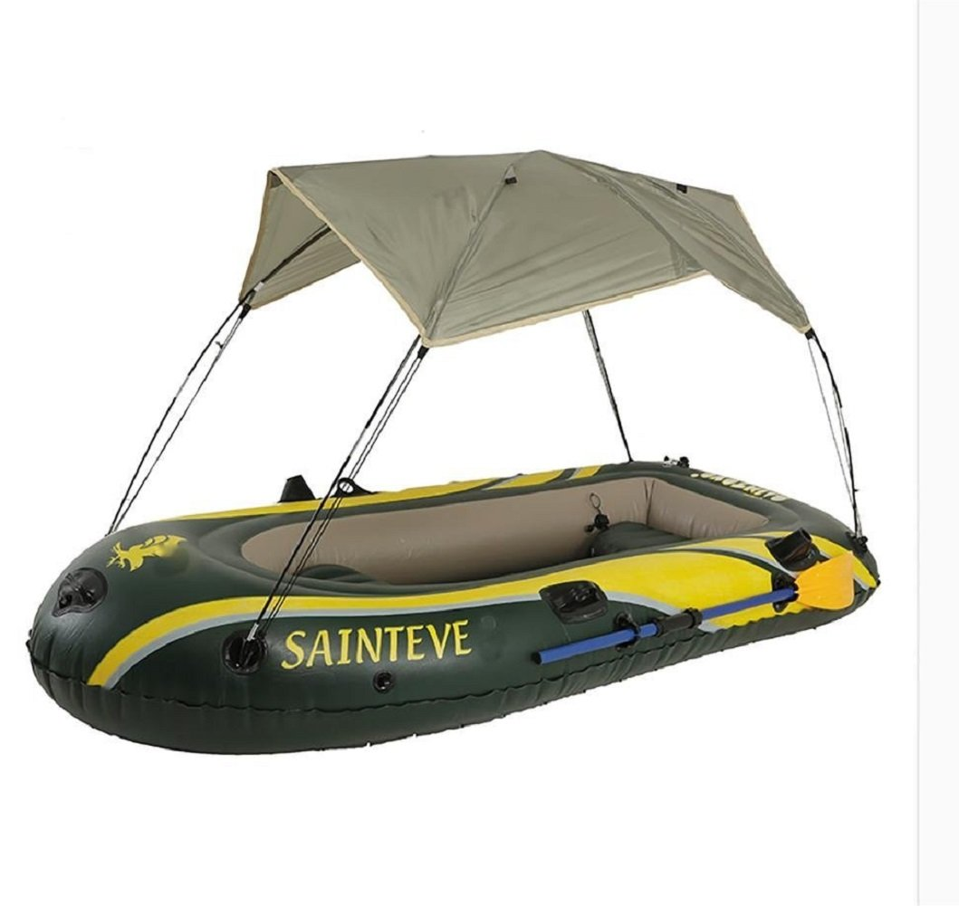 wenrit Inflatable Kayak Boat Fishing Inflatable Kayak Boat Boat with Parasol,PVC