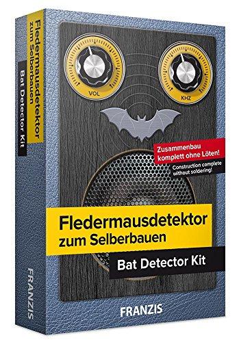 FRANZIS Fledermausdetektor zum Selberbauen: Bausatz komplett ohne Löten!   Ab 14 Jahren