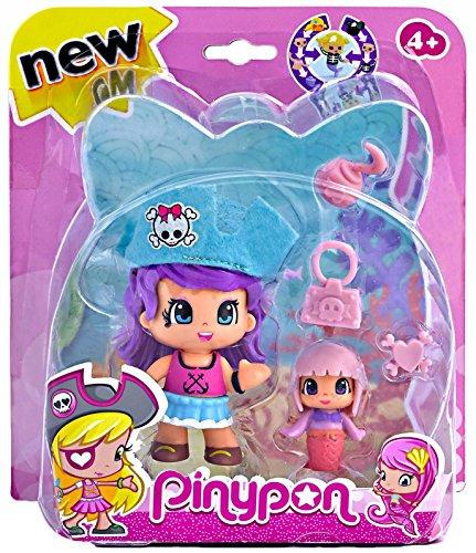 Pinypon Pirati e sirene–Statuetta pirata cappello blu. (famosa 700013363)