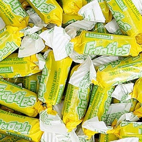 tootsie-roll-yellow-lemon-lime-frooties-taffy-candy-5lb-bag-by-n-a