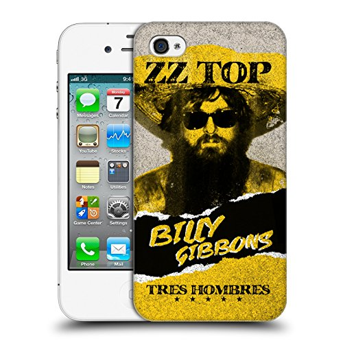 Offizielle ZZ Top Railway Band Kunst Ruckseite Hülle für Apple iPhone 5 / 5s / SE Billy G
