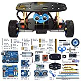 Adeept 2-Wheel Self-Balancing Upright Car Robot Kit for Arduino UNO R3, MPU6050...