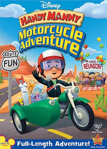 Disney Handy Manny: Motorcycle Adventure by Handy Manny