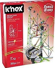 K' Nex 13447K' Nex–Thrill Rides Mecha Artiglio Roller Coasterbuilding Set