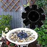 Mumustar Solar Water Fountain Pump Garden Pond Floating Sprinkler Watering Kits For Bird Bath, Pool Water Oxygen Circulation, Aquarium, Outdoor Garden Decoration