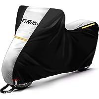 Favoto Telo Coprimoto 210D Teli per Moto Scooter Impermeabile Resistente ad Acqua/Polvere/Pioggia/Vento/Foglie…