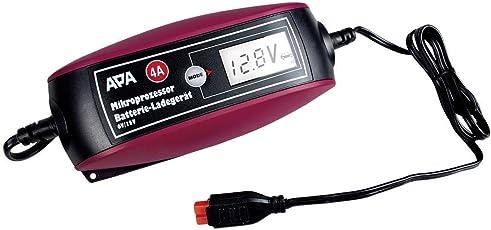 APA 16617 Mikroprozessor Batterie-Ladegerät 6/12V 4A