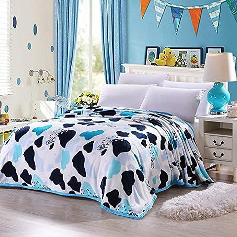 Corail Flanelle Couverture Drap de lit Bedline Soft Touch King