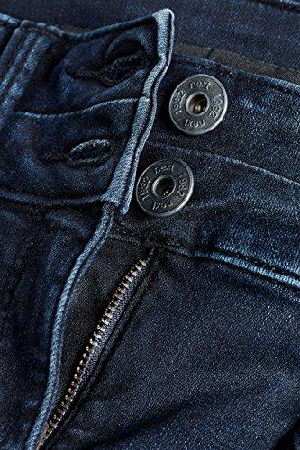next Donna Jeans Skinny Effetto Push-Up, Snellente E Modellante Blu Inchiostro