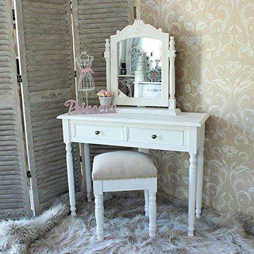 Elisa-Blanco-Rango-tocador-taburete-y-oscilacin-del-espejo